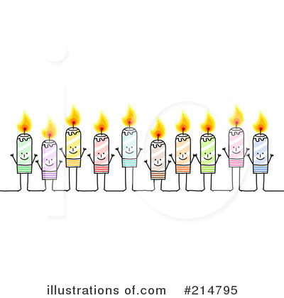 Birthday Candle Clipart #214795 by NL shop
