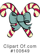 Candy Cane Clipart #100649 by Andy Nortnik