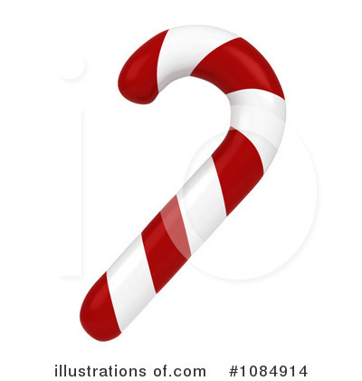 Candy Cane Clipart #1084914 by BNP Design Studio
