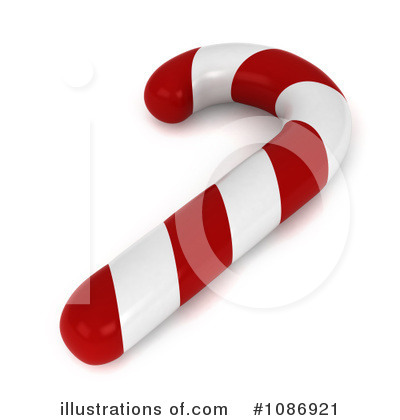Candy Cane Clipart #1086921 by BNP Design Studio