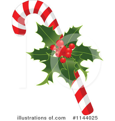 Candy Cane Clipart #1144025 by Pushkin