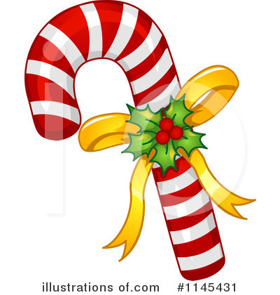 Candy Cane Clipart #1145431 by BNP Design Studio