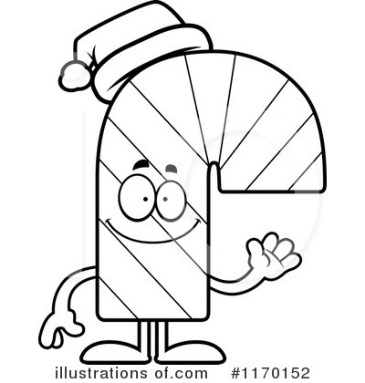 Candy Cane Clipart #1170152 by Cory Thoman