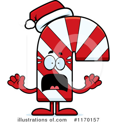 Candy Cane Clipart #1170157 by Cory Thoman