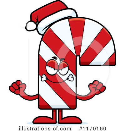 Candy Cane Clipart #1170160 by Cory Thoman