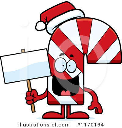 Candy Cane Clipart #1170164 by Cory Thoman
