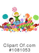 Royalty-Free (RF) candy Clipart Illustration #1081053