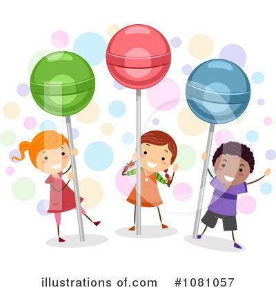 Royalty-Free (RF) Candy Clipart Illustration by BNP Design Studio - Stock Sample #1081057