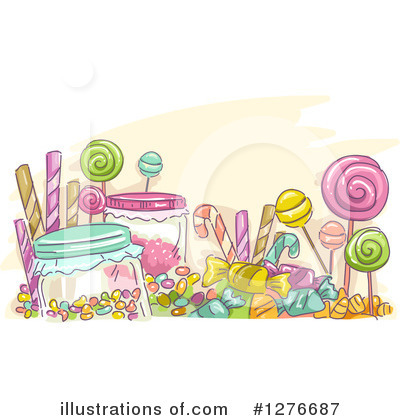 Candy Cane Clipart #1276687 by BNP Design Studio
