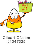 Royalty-Free (RF) Candy Corn Clipart Illustration #1347325
