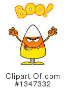 Candy Corn Clipart #1347332 by Hit Toon