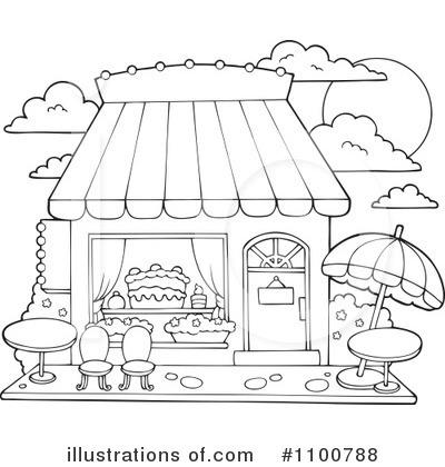 Candy Shop Clipart #1100788 - Illustration by visekart