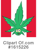 Cannabis Clipart #1615226 by Domenico Condello