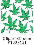 Cannabis Clipart #1637131 by Domenico Condello