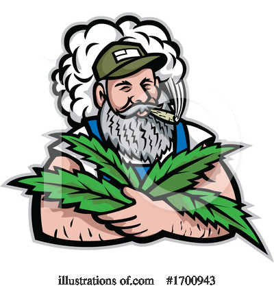 Royalty-Free (RF) Cannabis Clipart Illustration by patrimonio - Stock Sample #1700943