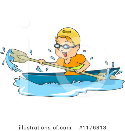 Canoe Clipart #1176813 by BNP Design Studio