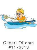 Canoeing Clipart #1176813