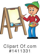 Canvas Clipart #1411331 by visekart