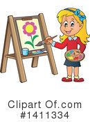Canvas Clipart #1411334 by visekart