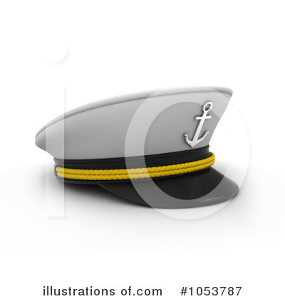 Royalty-Free (RF) Captain Clipart Illustration by BNP Design Studio - Stock Sample #1053787