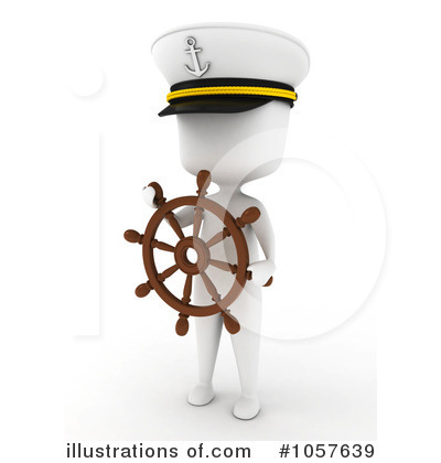 Royalty-Free (RF) Captain Clipart Illustration by BNP Design Studio - Stock Sample #1057639