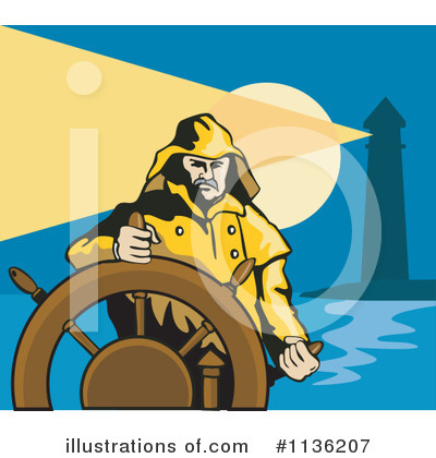 Lighthouse Clipart #1136207 by patrimonio