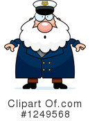 Royalty-Free (RF) Captain Clipart Illustration #1249568