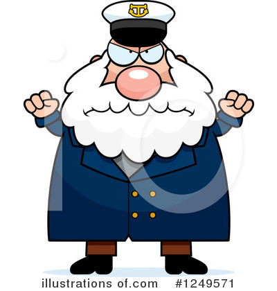 Captain Clipart #1249571 by Cory Thoman