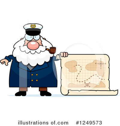 Captain Clipart #1249573 by Cory Thoman