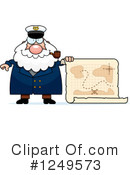 Royalty-Free (RF) Captain Clipart Illustration #1249573