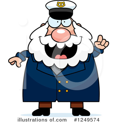 Royalty-Free (RF) Captain Clipart Illustration by Cory Thoman - Stock Sample #1249574
