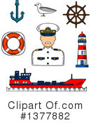 Captain Clipart #1377882