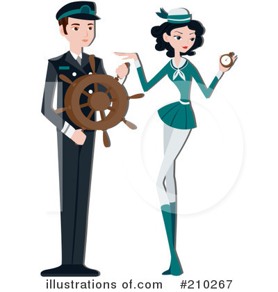 Stewardess Clipart #210267 by BNP Design Studio