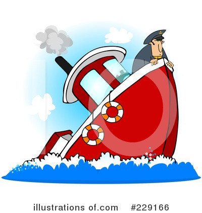 Royalty-Free (RF) Captain Clipart Illustration by Dennis Cox - Stock Sample #229166