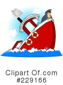 Royalty-Free (RF) Captain Clipart Illustration #229166