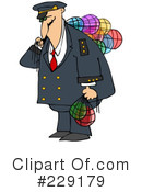 Royalty-Free (RF) Captain Clipart Illustration #229179