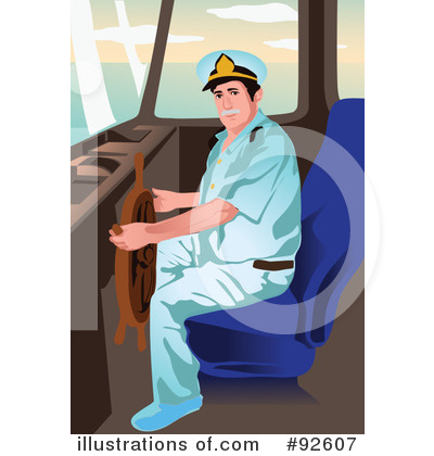 Royalty-Free (RF) Captain Clipart Illustration by mayawizard101 - Stock Sample #92607