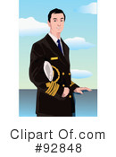 Royalty-Free (RF) Captain Clipart Illustration #92848