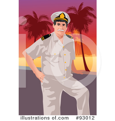 Royalty-Free (RF) Captain Clipart Illustration by mayawizard101 - Stock Sample #93012