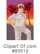 Royalty-Free (RF) Captain Clipart Illustration #93012