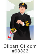 Royalty-Free (RF) Captain Clipart Illustration #93333