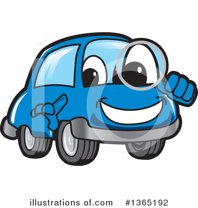 Car Character Clipart #1365192 by Toons4Biz