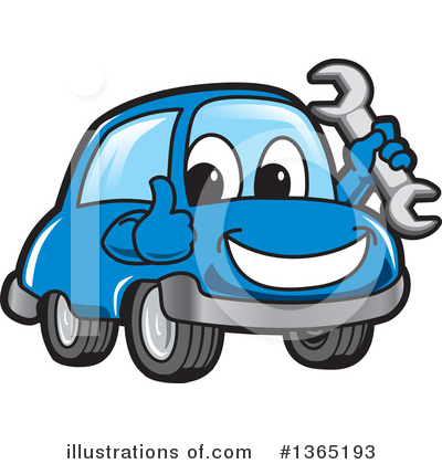 Car Character Clipart #1365193 by Toons4Biz