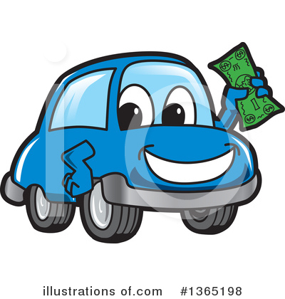 Car Character Clipart #1365198 by Toons4Biz