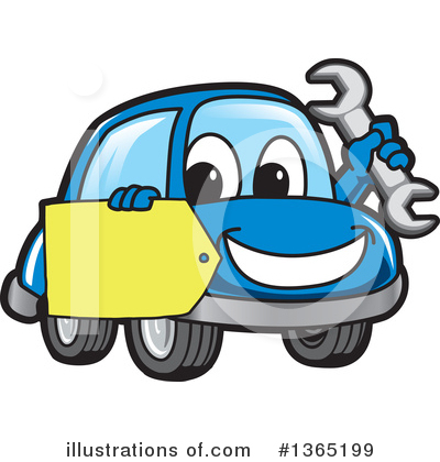 Car Character Clipart #1365199 by Toons4Biz