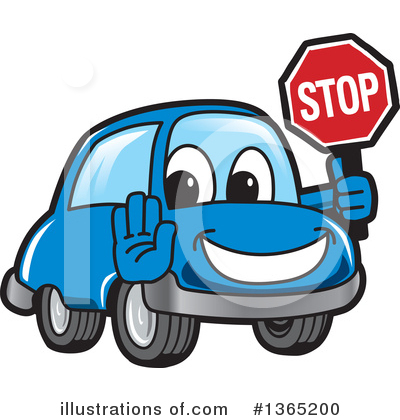 Car Character Clipart #1365200 by Toons4Biz
