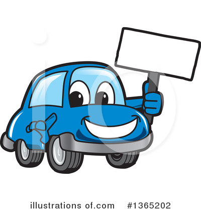 Car Character Clipart #1365202 by Toons4Biz