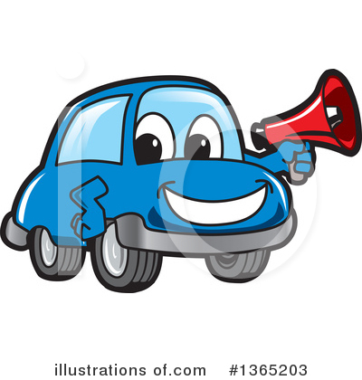Car Character Clipart #1365203 by Toons4Biz