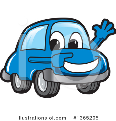 Car Character Clipart #1365205 by Toons4Biz