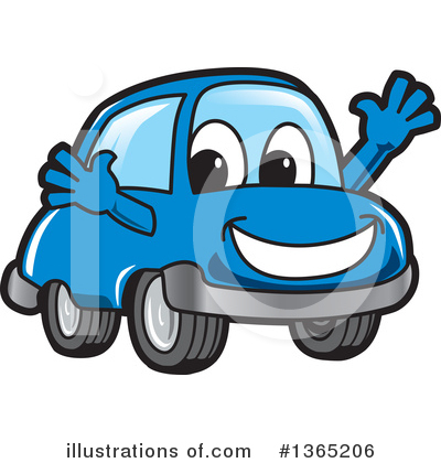 Car Character Clipart #1365206 by Toons4Biz